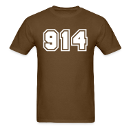 T-Shirts ~ Men's T-Shirt ~ Area Code 914 Shirt by New York Old School