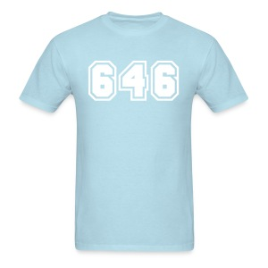 Area Code 646 Shirt by New York Old School  - Men's T-Shirt