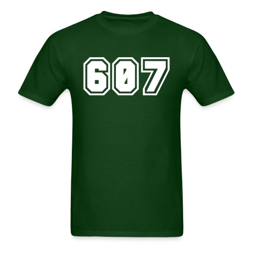 Area Code 607 Shirt by New York Old School  - Men's T-Shirt