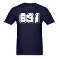 T-Shirts ~ Men's T-Shirt ~ Area Code 631 Shirt by New York Old School