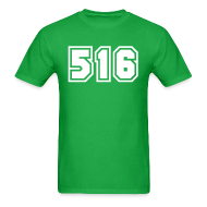 T-Shirts ~ Men's T-Shirt ~ Area Code 516 Shirt by New York Old School