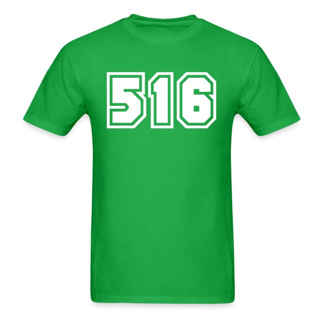 Area Code 516 Shirt by New York Old School