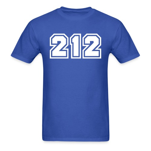 Area Code 212 Shirt by New York Old School  - Men's T-Shirt