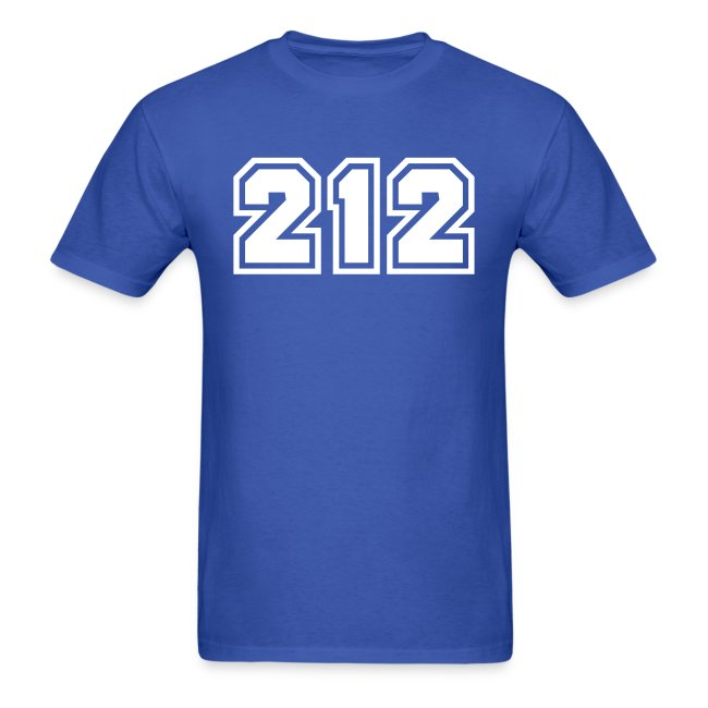 Area Code 212 Shirt by New York Old School