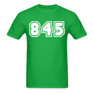 T-Shirts ~ Men's T-Shirt ~ Area Code 845 Shirt by New York Old School