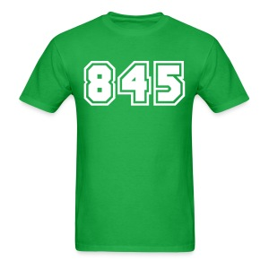 Area Code 845 Shirt by New York Old School  - Men's T-Shirt