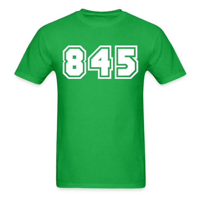Area Code 845 Shirt by New York Old School