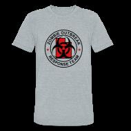 T-Shirts ~ Unisex Tri-Blend T-Shirt ~ 1-UTLogo-MTri-Full (Black & Red)