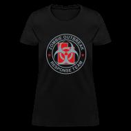 T-Shirts ~ Women's T-Shirt ~ 1-UTLogo-FStd-Full (Silver & Red)