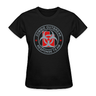 Women's T-Shirts ~ Women's T-Shirt ~ 1-UTLogo-FStd-Full (Silver & Red)