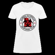 T-Shirts ~ Women's T-Shirt ~ 1-UTLogo-FStd-Full (Black & Red)
