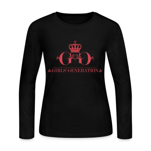 [SNSD] Girls' Generation Crown - Women's Long Sleeve Jersey T-Shirt