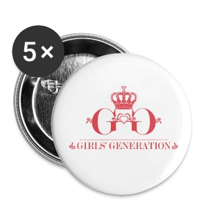 [SNSD] Girls' Generation Crown (Smaller) - Small Buttons