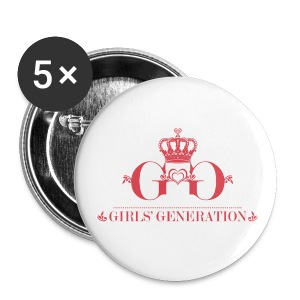 [SNSD] Girls' Generation Crown - Large Buttons