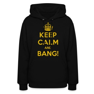 [AS] Keep Calm & Bang! - Women's Hoodie