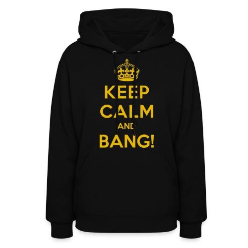 [AS] Keep Calm & Bang! - Women's Hoodie