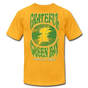 Grateful Green Bay - Men's T-Shirt by American Apparel