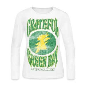 Grateful Green Bay - Women's Long Sleeve Jersey T-Shirt