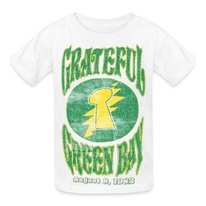 Grateful Green Bay - Kids' T-Shirt