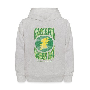 Grateful Green Bay - Kids' Hoodie