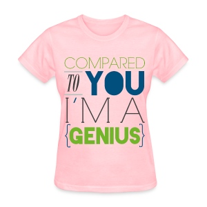 [SUJU] Compared to You I'm a Genius - Women's T-Shirt