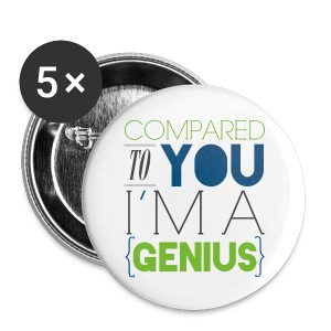 [SUJU] Compared to You I'm a Genius - Small Buttons