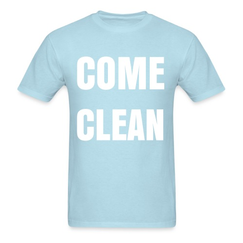 Come Clean - Multiple Colors - Men's T-Shirt