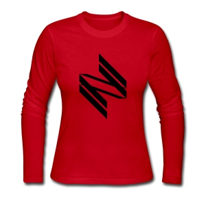 [INF] Infinite Diagonals - Women's Long Sleeve Jersey T-Shirt