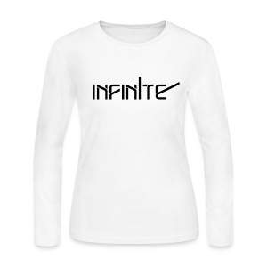 [INF] Infinite Name - Women's Long Sleeve Jersey T-Shirt