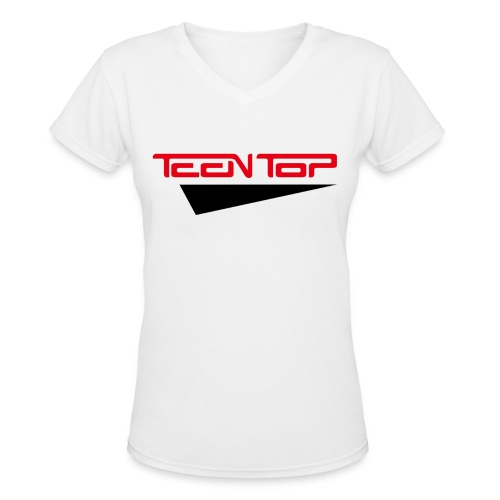 [TT] Teen Top - Women's V-Neck T-Shirt