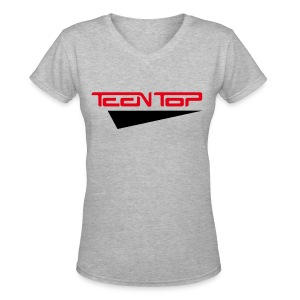 [TT] Teen Top - Women's V-Neck T-Shirt
