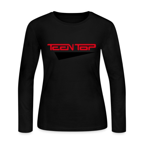 [TT] Teen Top - Women's Long Sleeve Jersey T-Shirt