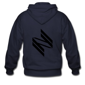 [INF] Infinite Diagonals - Men's Zip Hoodie