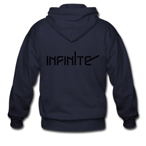 [INF] Infinite Name - Men's Zip Hoodie