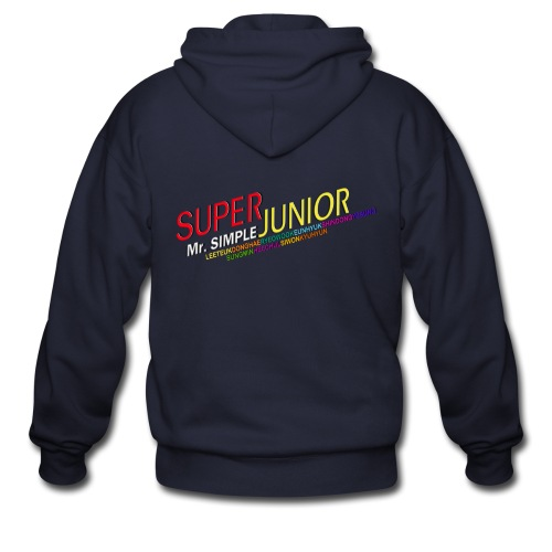 [SJ] Mr. Simple - Men's Zip Hoodie
