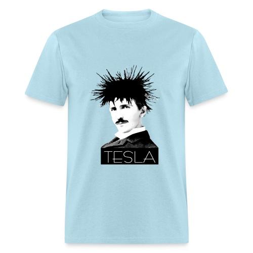 Icon: Tesla - Men's T-Shirt