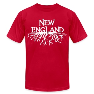 New England Roots - Men's T-Shirt by American Apparel