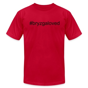 #bryzgaloved - Men's T-Shirt by American Apparel