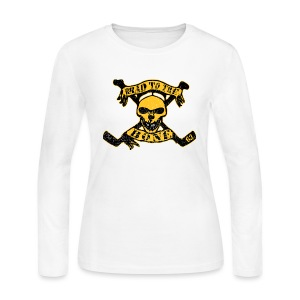 Brad to the Bone #63 - Women's Long Sleeve Jersey T-Shirt