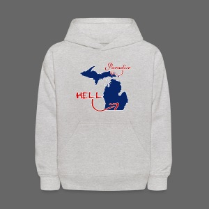 Paradise and Hell - Kids' Hoodie
