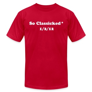 So Classicked - Men's T-Shirt by American Apparel