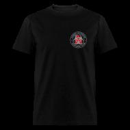 T-Shirts ~ Men's T-Shirt ~ 2-UTLogo-MStd (Silver& Red)