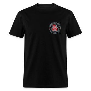 2-UTLogo-MStd (Silver& Red) - Men's T-Shirt