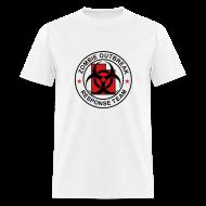 T-Shirts ~ Men's T-Shirt ~ 2-UTLogo-MStd-Full (Black & Red)