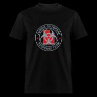 T-Shirts ~ Men's T-Shirt ~ 2-UTLogo-MStd-Full (Silver & Red)