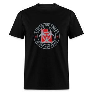 2-UTLogo-MStd-Full (Silver & Red) - Men's T-Shirt