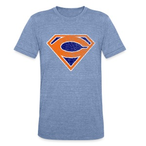 Super C - Unisex Tri-Blend T-Shirt by American Apparel