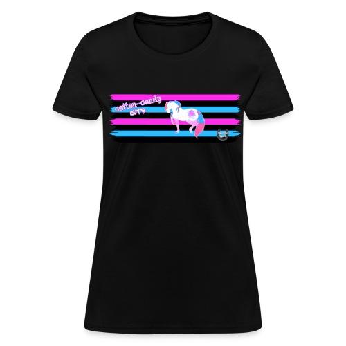 Cotton-Candy Cuts - Women's T-Shirt