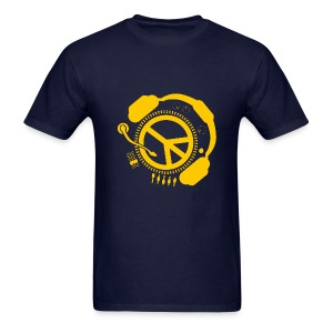 Peace and Music T - Men's T-Shirt