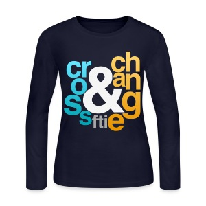 [FTI] Cross & Change - Women's Long Sleeve Jersey T-Shirt